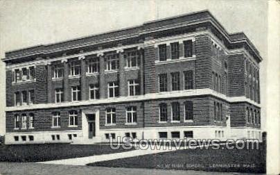 New High School, Leominster - Massachusetts MA Postcard
