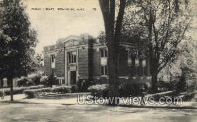 Public Library - Leominster, Massachusetts MA Postcard
