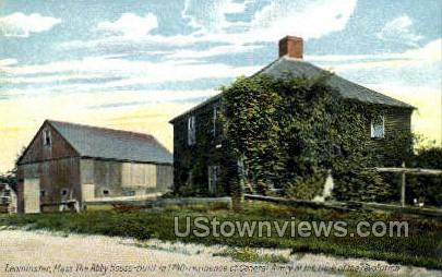 Abby House,  Residence of Gen Avery - Leominster, Massachusetts MA Postcard
