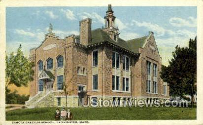 Sancta Caecilia School - Leominster, Massachusetts MA Postcard