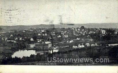 Leominster, Massachusetts    ;     Leominster, Mass Postcard