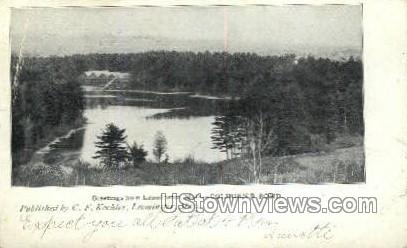 Colbun's Pond - Leominster, Massachusetts MA Postcard