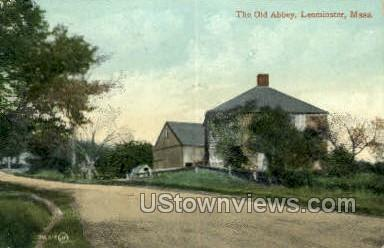 Old Abbey - Leominster, Massachusetts MA Postcard