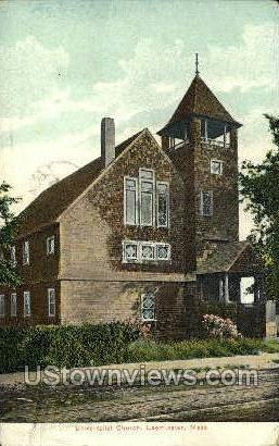 Universalist Church - Leominster, Massachusetts MA Postcard