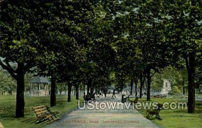 Lawrence Common - Massachusetts MA Postcard