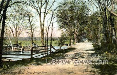 Seven Bridge Road - Lancaster, Massachusetts MA Postcard