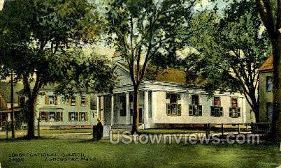 Congregational Church - Lancaster, Massachusetts MA Postcard