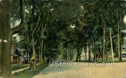 Main St. - Lancaster, Massachusetts MA Postcard