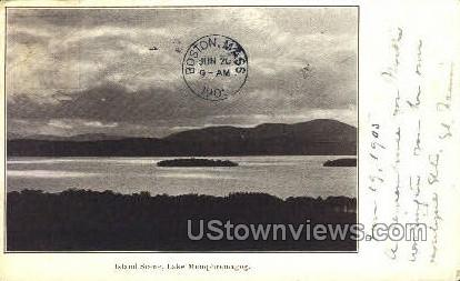 Lake Memphremagog - Lawrence, Massachusetts MA Postcard