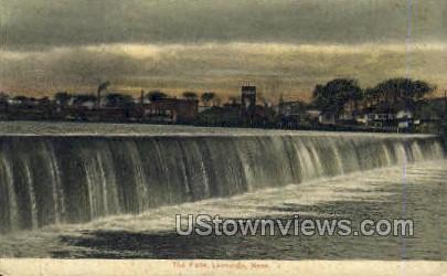 The Falls - Lawrence, Massachusetts MA Postcard