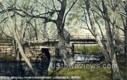 Shawsheen River - Lawrence, Massachusetts MA Postcard