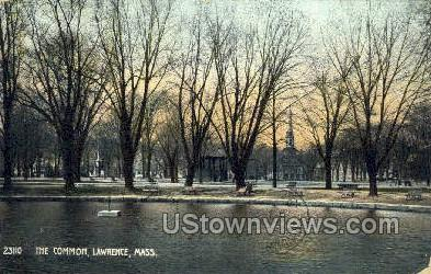 The Common - Lawrence, Massachusetts MA Postcard
