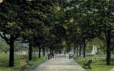 Lawrence Common - Massachusetts MA Postcard