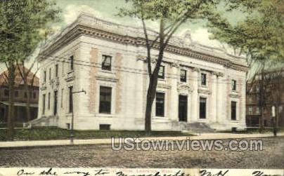 Post Office - Lawrence, Massachusetts MA Postcard