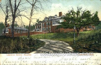 Lawrence General Hospital - Massachusetts MA Postcard