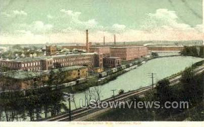The Arlington Cotton Mills - Lawrence, Massachusetts MA Postcard