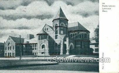 Public Library - Lawrence, Massachusetts MA Postcard