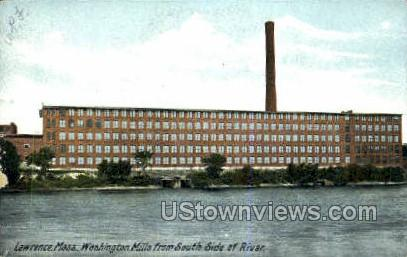 Washington Mills - Lawrence, Massachusetts MA Postcard