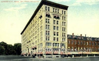 Bay State Building - Lawrence, Massachusetts MA Postcard