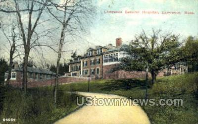 Lawrence General Hospital - Massachusetts MA Postcard