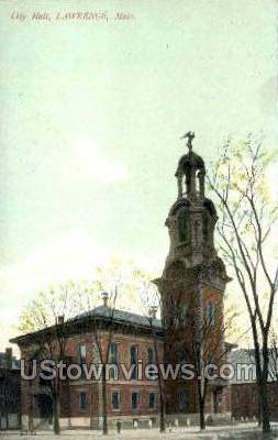 City Hall - Lawrence, Massachusetts MA Postcard