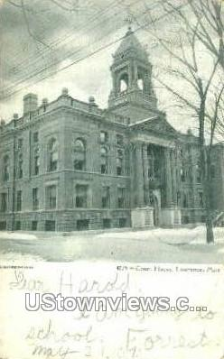 Court House - Lawrence, Massachusetts MA Postcard