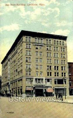 Bay State Building - Lawrence, Massachusetts MA Postcard