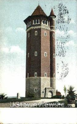 Water Tower Hill - Lawrence, Massachusetts MA Postcard