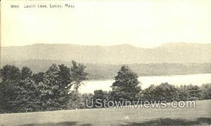 Laurel Lake - Lenox, Massachusetts MA Postcard