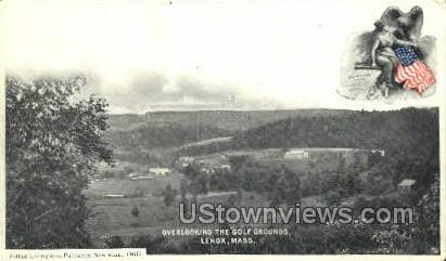 Golf Grounds - Lenox, Massachusetts MA Postcard