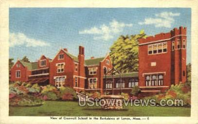 Cranwell School - Lenox, Massachusetts MA Postcard
