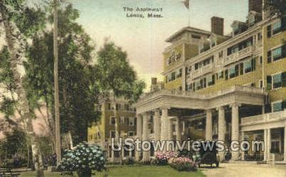 The Aspinwall - Lenox, Massachusetts MA Postcard