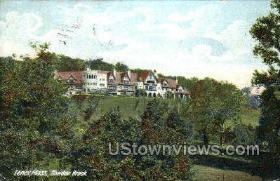 Shadow Brook - Lenox, Massachusetts MA Postcard