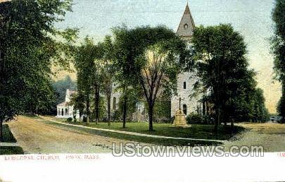 Episcopal Church - Lenox, Massachusetts MA Postcard