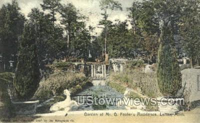 Mr. G. Foster's Residence - Lenox, Massachusetts MA Postcard