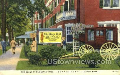 The Coach, Old Stage Grill - Lenox, Massachusetts MA Postcard