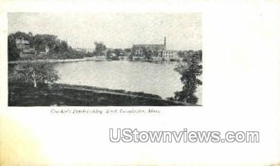 Crocker's Pond - Leominster, Massachusetts MA Postcard