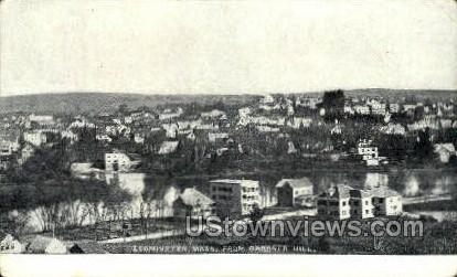 Leominster, Massachusetts, MA Postcard