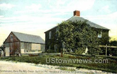 The Abby House - Leominster, Massachusetts MA Postcard