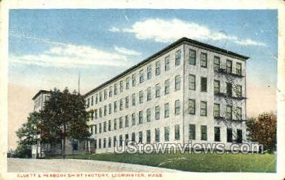 Peabody Shirt Factory - Leominster, Massachusetts MA Postcard
