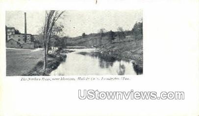 The Nashua River - Leominster, Massachusetts MA Postcard