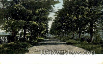 Maple Ave. - Leominster, Massachusetts MA Postcard