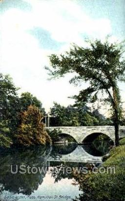 Hamilton St. Bridge - Leominster, Massachusetts MA Postcard