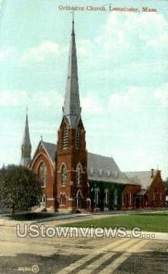 Orthodox Church - Leominster, Massachusetts MA Postcard