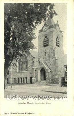 Unitarian Church - Leominster, Massachusetts MA Postcard