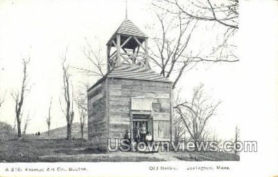 Old Belfry - Lexington, Massachusetts MA Postcard