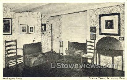 Washington Room, Munroe Tavern - Lexington, Massachusetts MA Postcard