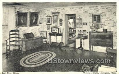 Earl Percy Room, Munroe Tavern - Lexington, Massachusetts MA Postcard
