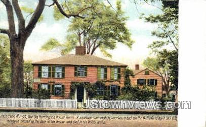 The Old Harrington House - Lexington, Massachusetts MA Postcard