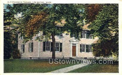Old Buckman Tavern - Lexington, Massachusetts MA Postcard